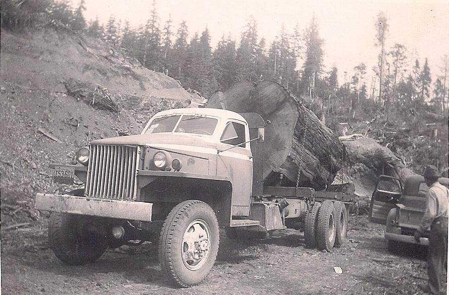 Studebaker Log Truck in Oregon