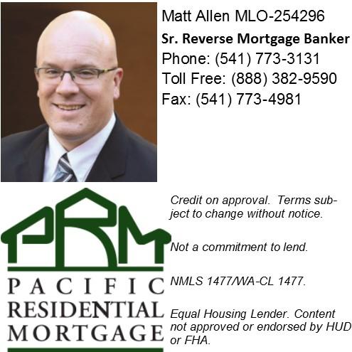 Matt Allen Pacific Residential Mortgage