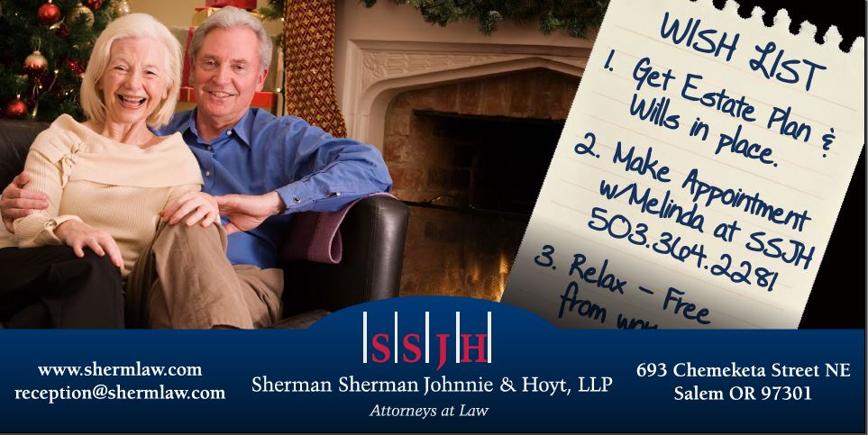 SSJH Holiday ad